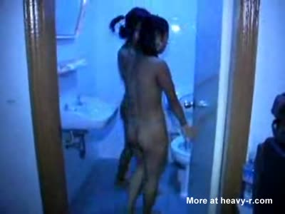 Thai Hookers Showering Together