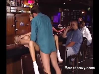 Slut Fucked In Public Bar