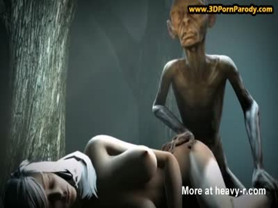 Gollum Finds A Woman In The Forest