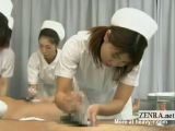 Japanese Nurses Giving Handjobs
