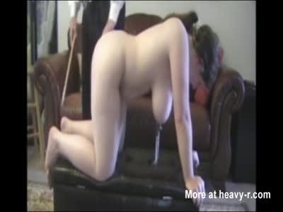 Spanking Busty Teen