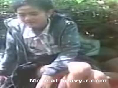 Indonesian Couple Caught Fucking