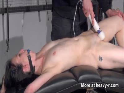 Gagged Amateur Slave In Sextoy Domination