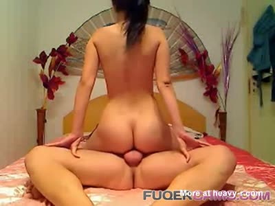 Young Couple Showing Off On Cam