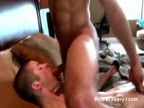 Horny gay twink bj ass fingering