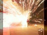Human firecracker