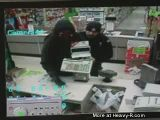 Cop Walks In On Robbery In Progress