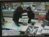 Cop Walks In On Robbery In Progress