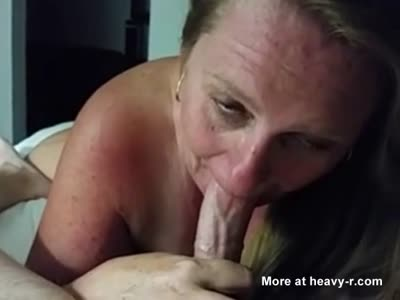 Stoned Wife Sucking Cock