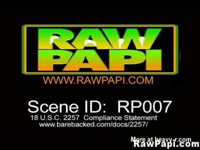 Wild Rawpapi Barebacked Fucked