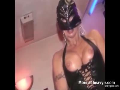 frightening strapon of femdom Michelle