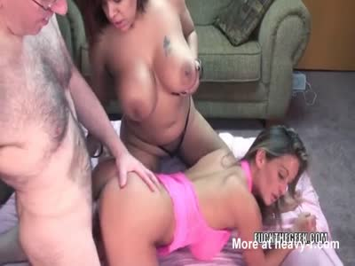 Five men fucked one woman