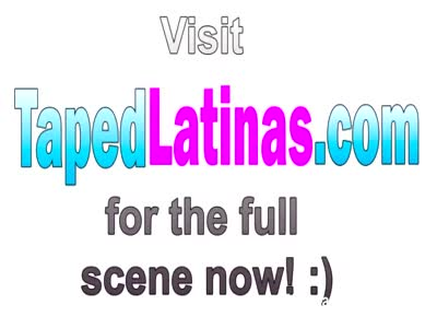 Latina hottie riding cock on floor