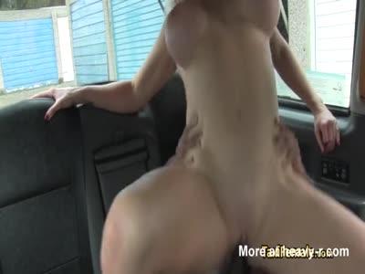Milf taxi driver fucks black cock