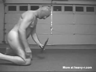 Man Falls on Knife