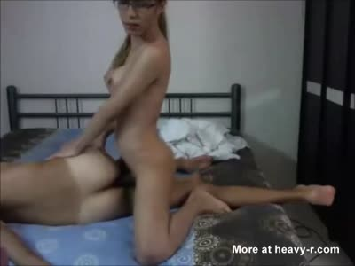 Shemale Babe And Her Male Guest Fucking Their Asses
