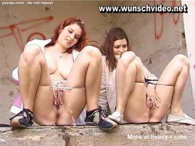 Lesbian Pissing Adventures