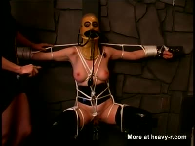 Playing With Latex Slave