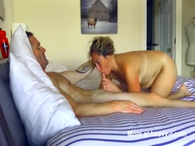 Couple bed sex