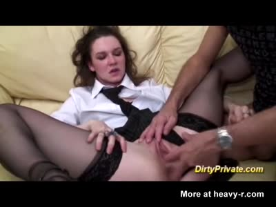 Casting Ends Straight In Anal