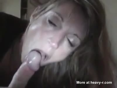 Hubby Cums In Mouth