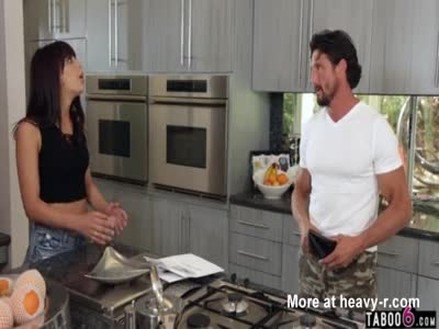 Stepdad Makes Porno With Teen Stepdaughter