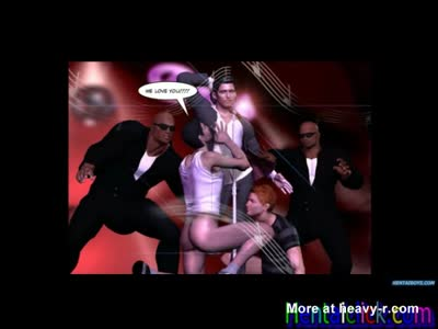 Hentai gay hunks group gangbanged and cummed