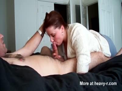 Chubby Redhead Sucking Cock