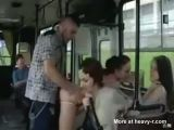 Couple Fucking In Public Bus