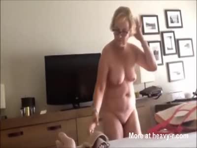 Gramps Filming naked Granny