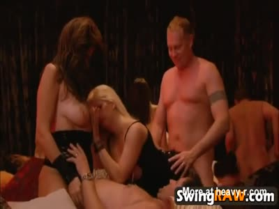 Swinger Couple Does Group Sex