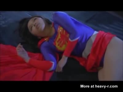 Japanese Supergirl Is Strangled Into Submission