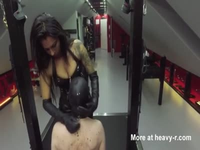 Fully Used And Abused Slave