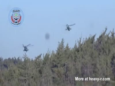 Terrorists Use TOW Missile To Blow Up Russian Helicopter
