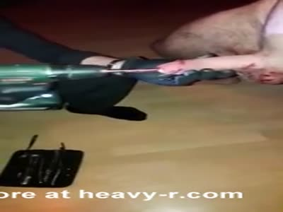 Urethral Fucking With Drilling Machine