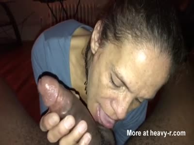 Sucking Huge Black DIck