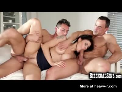 Wife Teaches Hubby How To Be a Bisexual!