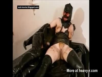 PVC Couple Love Scat Sex
