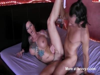 Busty Inked Slut Fucked Hard