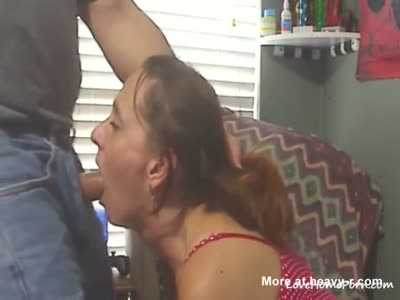 Deep Amateur Blowjob