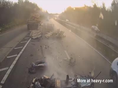 Truck vs Traffic Jam