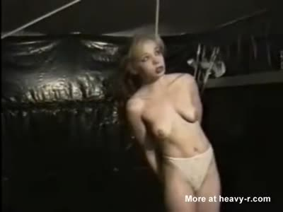Being hanged naked picture woman