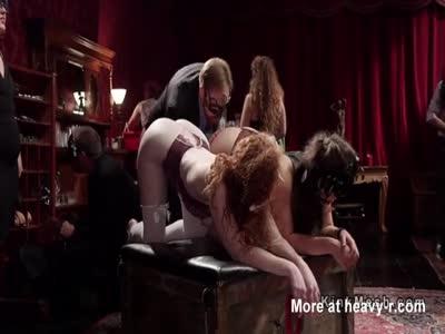 Anal BDSM Sex Slaves