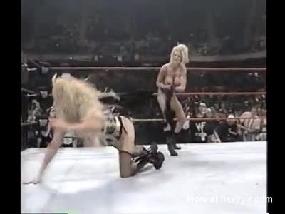 Female Wrestling In Lingerie