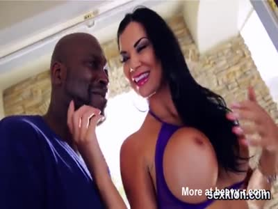 Pornstar centerfold gets her anal plowed with big penis