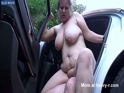 Fat Pig In Car Fuck