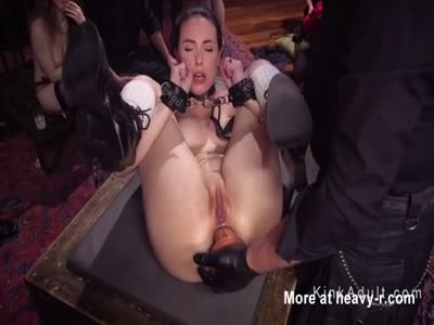 Ass To Mouth Toying For Tied Up Slave