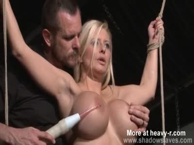 Electro BDSM On Massive Hooters