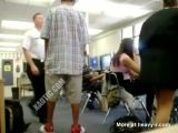 Kid Knocks Out Security Guard In School Library