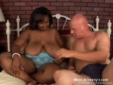 Black BBW Fucked By White Man